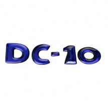 Etiqueta corpórea DC-10