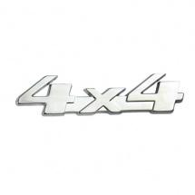 Placa metálica 4x4