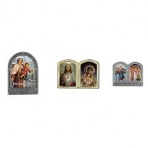Dípticos de escenas religiosas