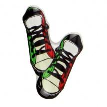 Etiqueta de resina zapatillas