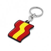 Llavero souvenir bandera España