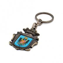Llavero souvenir escudo pergamino FSLLESPR-02