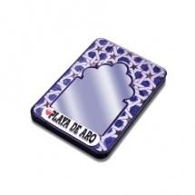 Imán souvenir resina espejo arabesco FSIMESP-REC-01