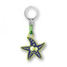 Llavero souvenir estrella de mar FSLLEST-PU-1