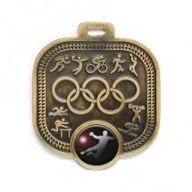 Medalla metálica olimpiadas balonmano