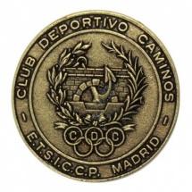 Medalla metálica redonda club deportivo