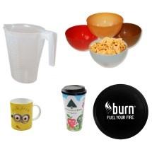 Articulos de plástico para menaje del hogar