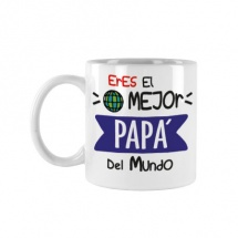 Taza souvenir familia chico papa