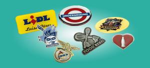 Chapas y pins personalizados