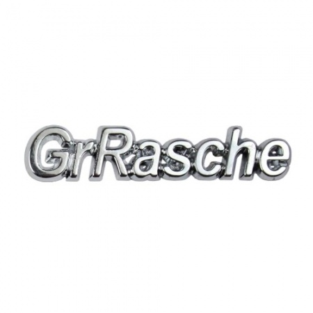 Placa de metal GrRasche