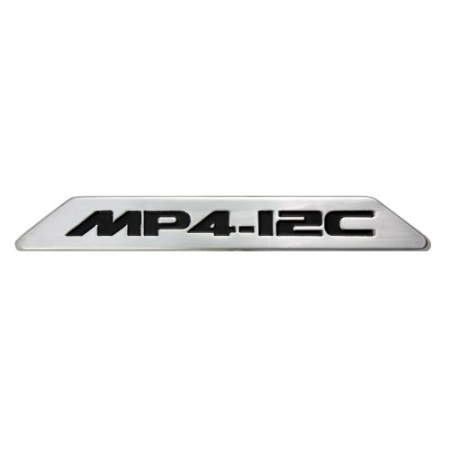 Placa metálica personalizada